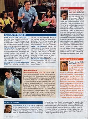 HIMYM : Magazine Scan