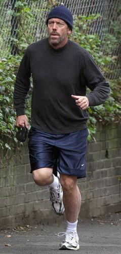 Hugh in London April 09