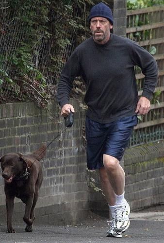 Hugh in Londra April 09
