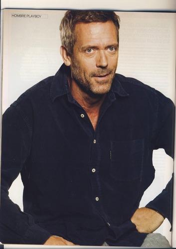 Hugh on Playboy Magazine (Spain) - March 2009