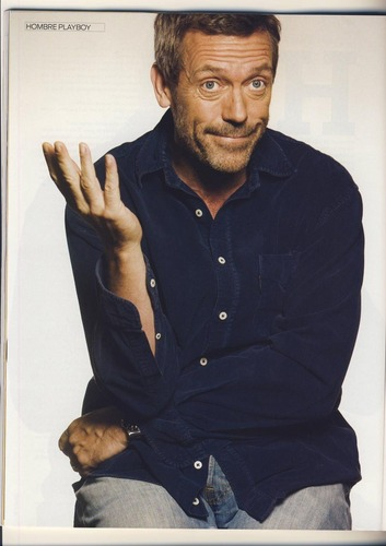 Hugh on Playboy Magazine (Spain) - March 2009
