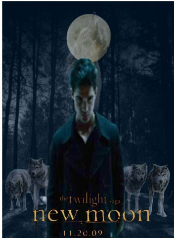 Jacob black New moon poster