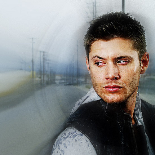 Jensen Ackles wallpaper possibly containing a carriageway and a portrait entitled Jensen