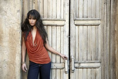 Jordana Brewster wallpaper probably containing a street titled Jordana- Fast & Furious Photoshoot