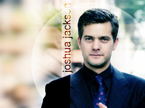 Joshua Jackson wallpaper containing a business suit titled Joshua
