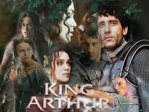 King Arthur দেওয়ালপত্র