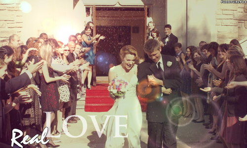 Leyton vs. Brucas wallpaper probably containing a bridesmaid entitled LP Love