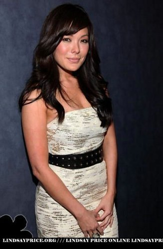 Lindsay Price wallpaper probably containing a dinner dress and a cocktail dress called Lindsay
