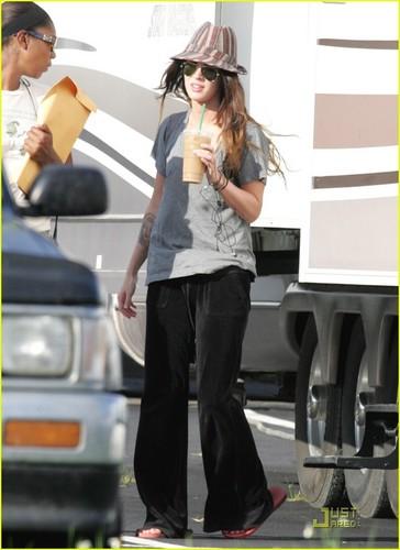 """Megan on the Set """"Jonah Hex"""""""