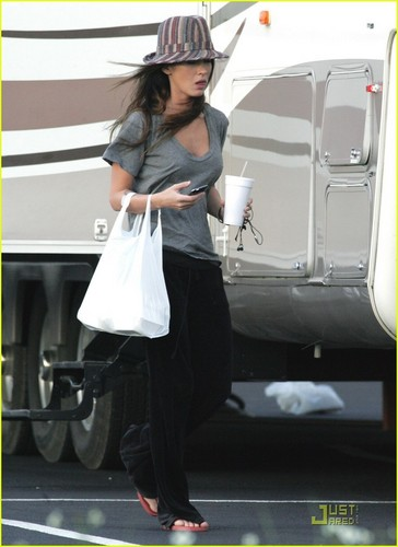 "Megan on the Set ""Jonah Hex"""