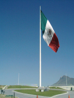 Mexican flag - mexico Photo