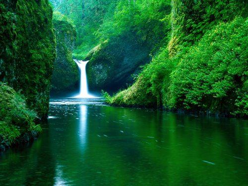 Mountains & Waterfalls