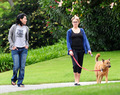 Nikki Reed out in the park - LA - April 24 - twilight-series photo