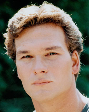 Patrick Swayze Hintergrund with a portrait entitled Patrick Swayze