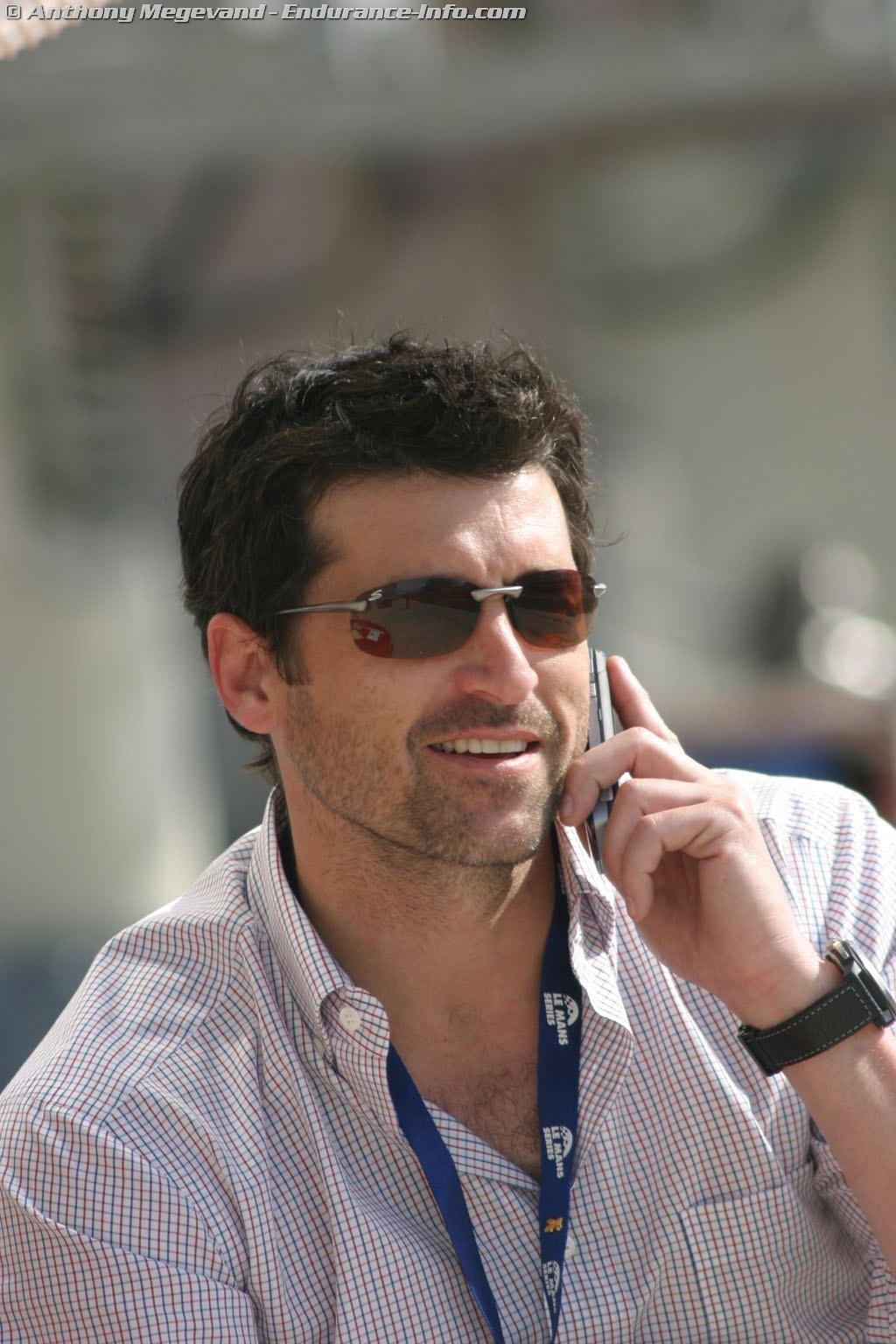 Patrick at Bugatti - patrick-dempsey photo