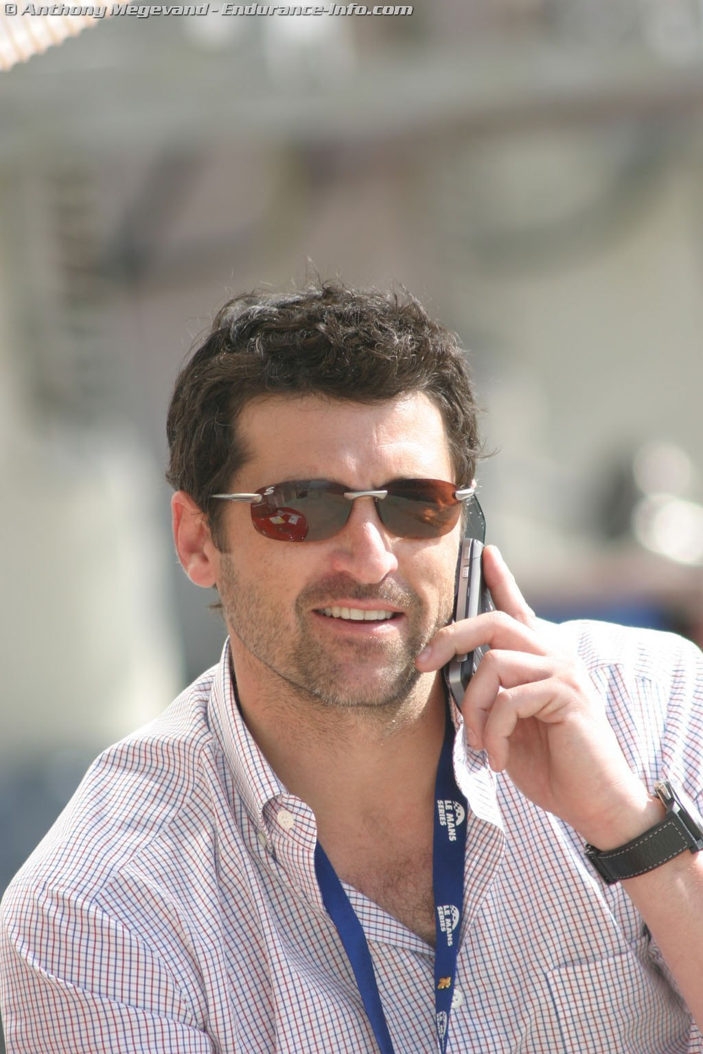 Patrick at Bugatti - patrick-dempsey photo
