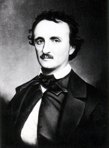 Edgar Allan Poe wallpaper containing a business suit titled Poe
