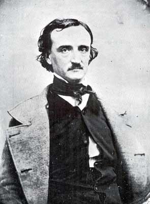 Edgar Allan Poe 壁纸 titled Poe