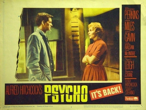 Psycho wallpaper containing anime called Psycho Movie Poster