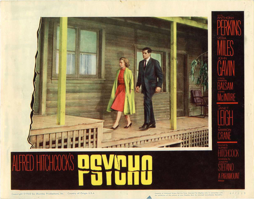 Psycho wallpaper probably with a revolving door titled Psycho Poster