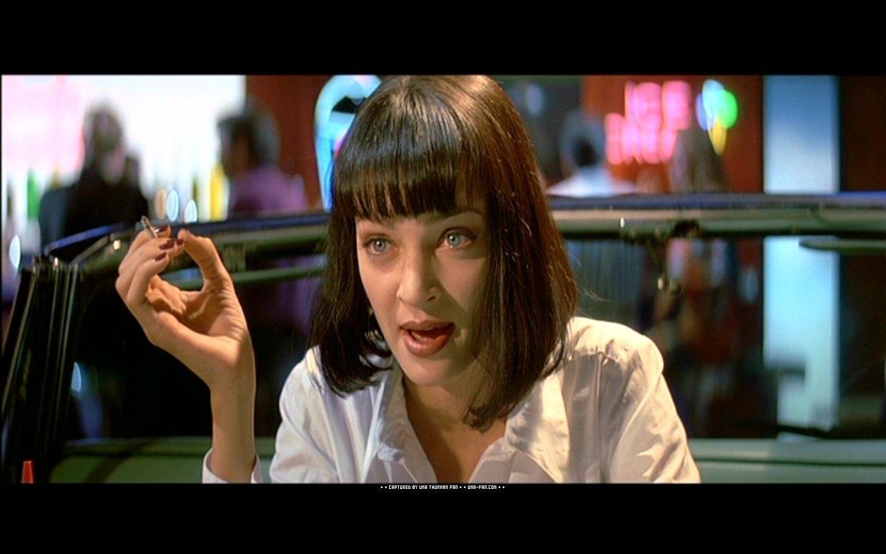 Uma Thurman Pulp Fiction Pulp Fiction - Uma Thu...