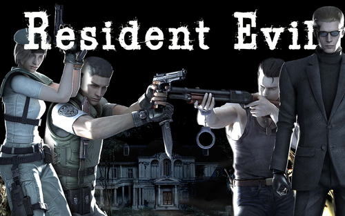 Resident Evil Hintergrund possibly with a green beret, a business suit, kampfanzug, schlachtkleid, and schlacht-kleid entitled Resident Evil