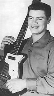 Rock'n'Roll Remembered वॉलपेपर probably with an electric गिटार entitled Ritchie Valens