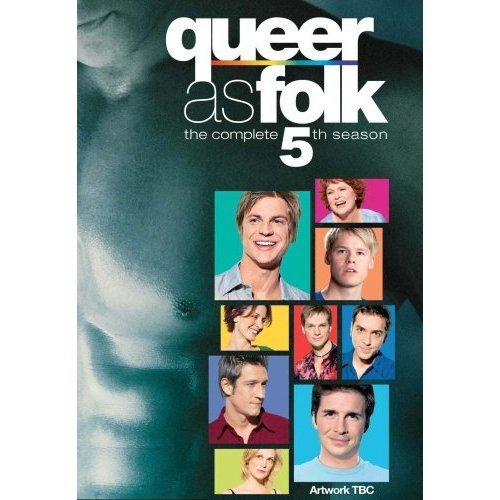 Queer As Folk wallpaper containing anime titled S5 DVD Cover (Region 2)