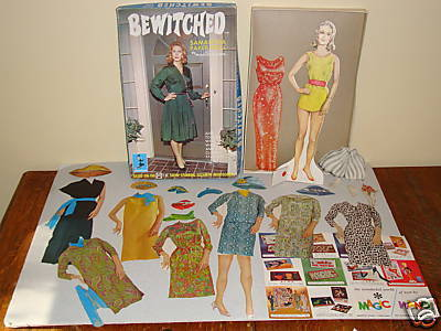 Bewitched wallpaper probably containing a living room entitled Samantha 1966 Paper Doll set