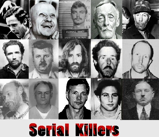 serial killers Do you want to know who are the most evil serial killers ever if so, you're not  alone our society seems to have both a repulsion and.