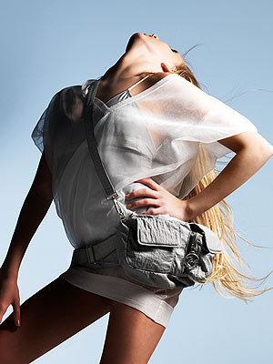 Sneak Peek at Nastia Modeling for Max Azria