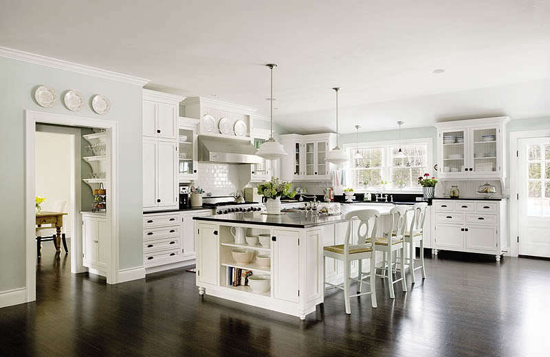Something 39 s gotta give images something 39 s gotta give for Model kitchens with white cabinets