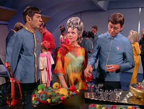 Spock,Bones & Amanda