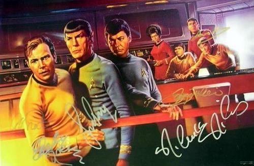 étoile, star Trek TOS fan Art