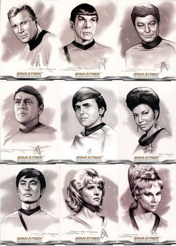 bintang trek series original wallpaper called bintang Trek TOS fan Art