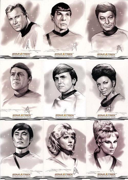 星, つ星 Trek TOS ファン Art