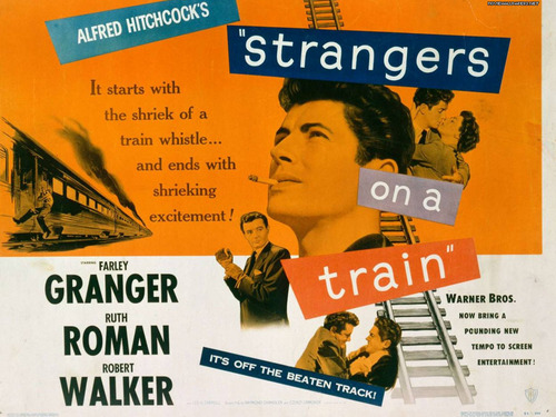 Classic Movies wallpaper containing anime called Strangers on a Train Wallpaper