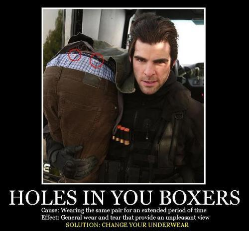 Holes In Your Boxers
