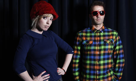 the ting tings Hintergrund containing a business suit and a well dressed person entitled The Ting Tings :3