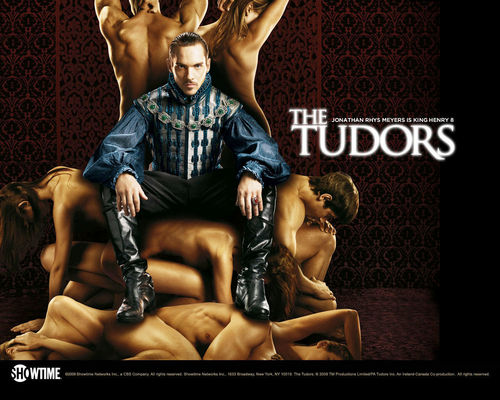 The Tudors wolpeyper