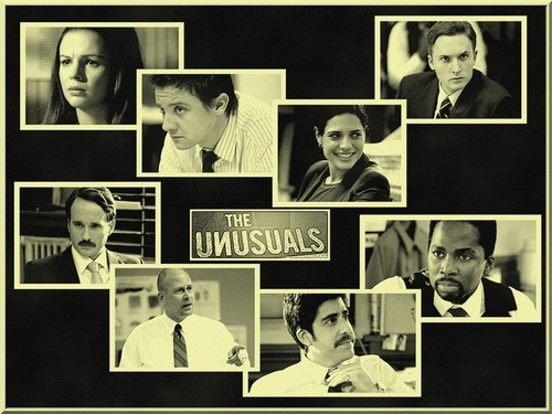 The Unusuals wallpaper probably with a newspaper and anime titled The Unusuals Team