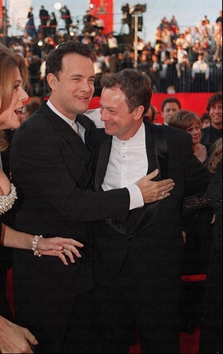 Tom Hanks and Gary Sinise