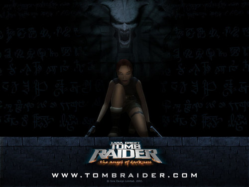 Tomb Raider wallpaper possibly with a sign titled Tomb Raider