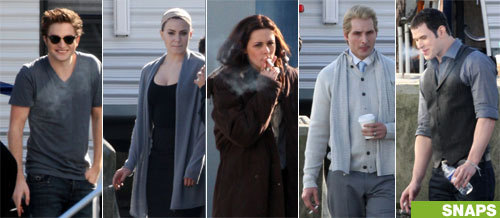 Twilight cast smoking