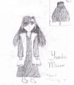 Yumiko Mizuni (Black and White) - bleach-rp fan art