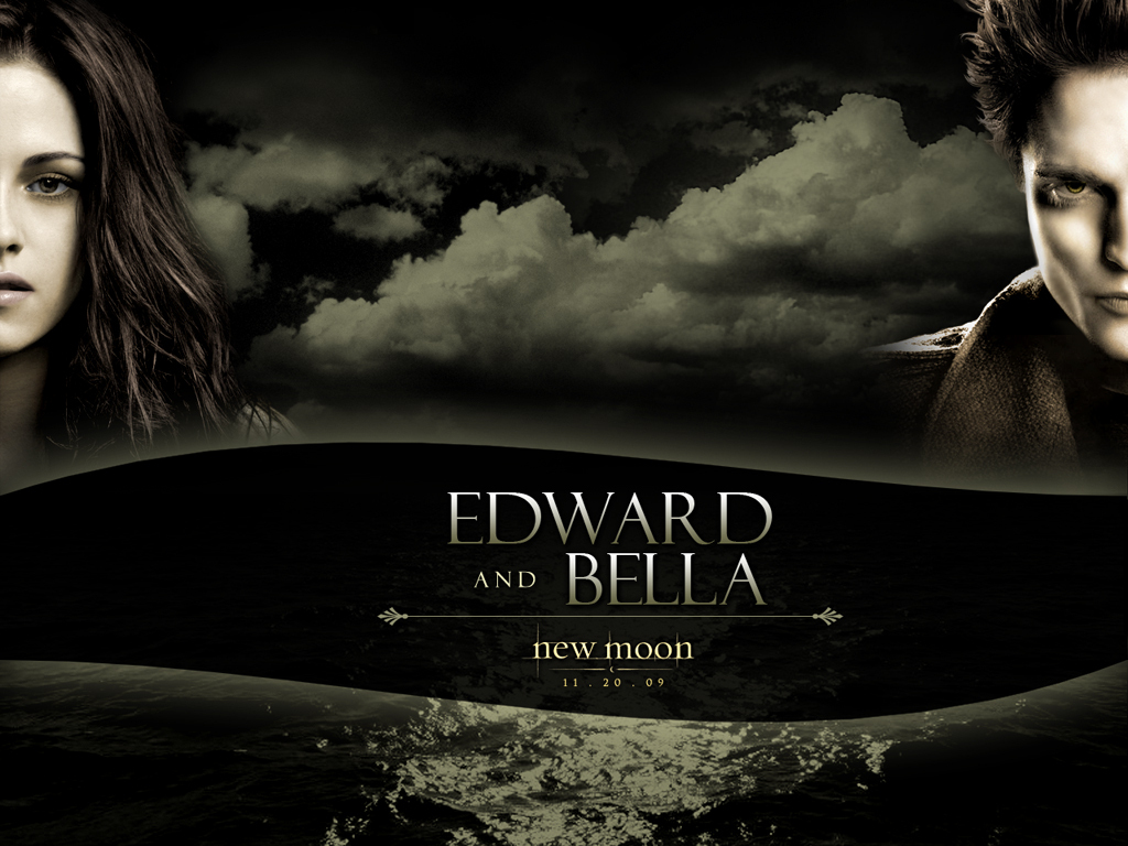 Edward Bella New Moon Movie Wallpaper 5839719 Fanpop