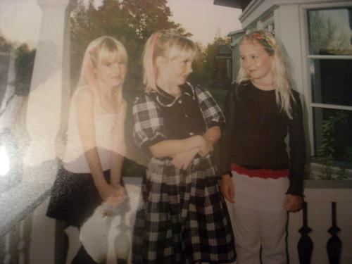 little lisa, anna and sister lina
