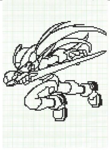 megaman zero in pixel001