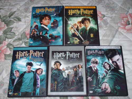 my Harry Potter DVD collection
