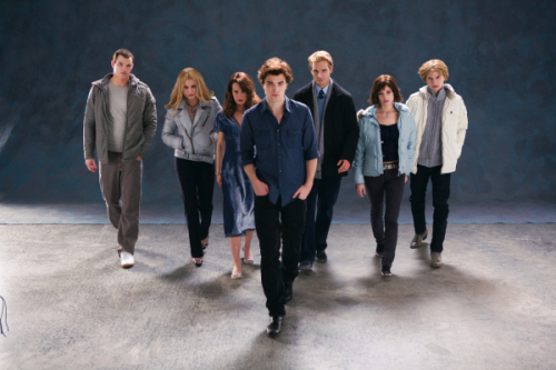 the cullens walking